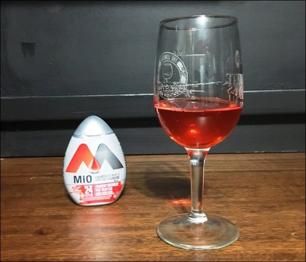 rum and mio while on keto diet